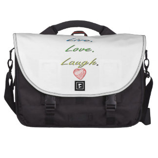 Risa viva del amor bolsa de ordenador