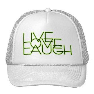 Risa viva del amor gorras de camionero