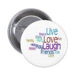 Risa viva del amor pin