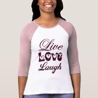 Risa viva del amor camisetas