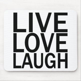 Risa viva del amor tapetes de ratones