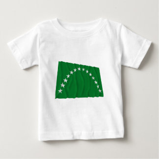 Risaralda Waving Flag Baby T-Shirt