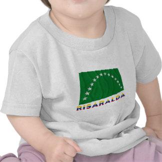 Risaralda Waving Flag with Name T Shirt