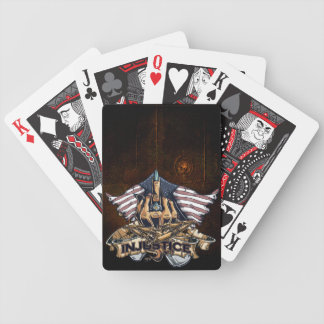 Rise above bicycle playing cards