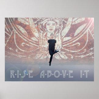 Rise Above It - Owen Luebbers Irish Dance Poster