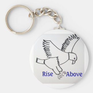 Rise Above Keychain