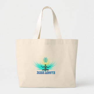 Rise Above Large Tote Bag