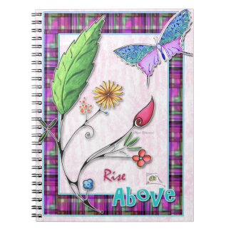 Rise Above Notebook