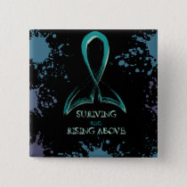 RISE ABOVE! PINBACK BUTTON