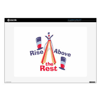 Rise Above Rest Laptop Decal