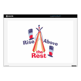 """Rise Above Rest Decal For 17"""" Laptop"""