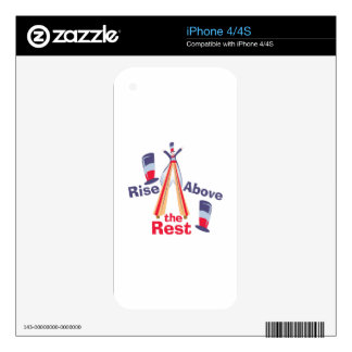 Rise Above Rest Skin For iPhone 4S