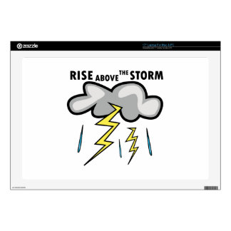 Rise Above Storm Laptop Skin