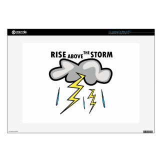 Rise Above Storm Skin For Laptop