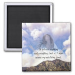 Rise above the Storm_ 2 Inch Square Magnet