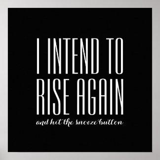 RISE AGAIN - Sharon Rhea Ford Poster