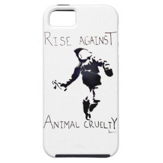 """RISE AGAINST ANIMAL CRUELTY"" iPhone SE/5/5s CASE"