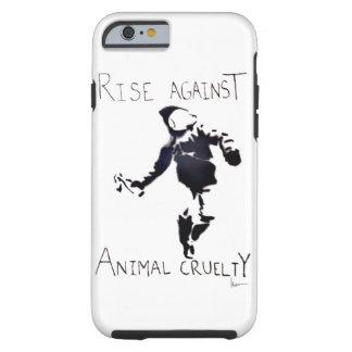 """RISE AGAINST ANIMAL CRUELTY"" TOUGH iPhone 6 CASE"