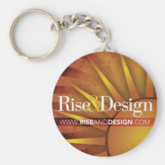 Rise and Design Keychain