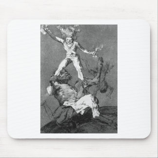 Rise and Fall by Francisco Goya Mouse Pad
