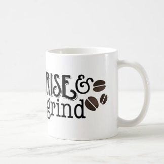 Rise and Grind Coffee Lovers Coffee Mug