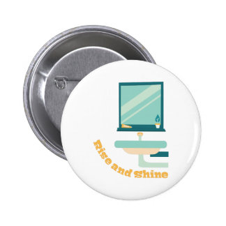 Rise And Shine 2 Inch Round Button