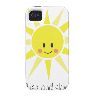 Rise and Shine iPhone 4 Case