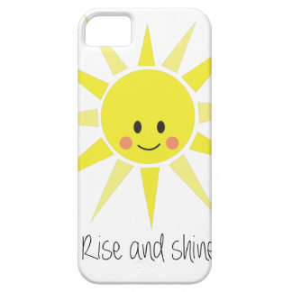 Rise and Shine iPhone 5 Covers