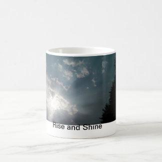 Rise and Shine Classic White Coffee Mug