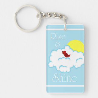 Rise and Shine Key Chain - Morning Red Bird