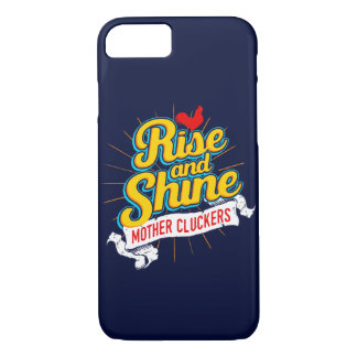 Rise and Shine Mother Cluckers Rooster Country iPhone 8/7 Case