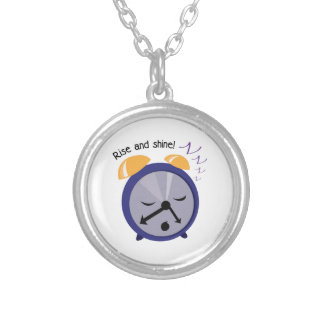 Rise And Shine! Round Pendant Necklace