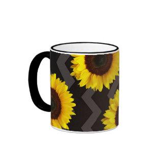 Rise and Shine Ringer Coffee Mug