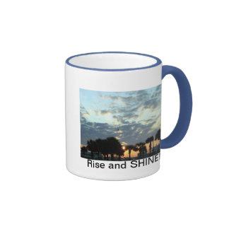 Rise and SHINE! Ringer Coffee Mug