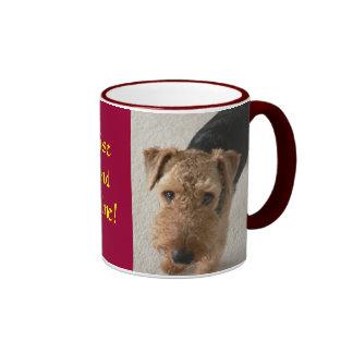 Rise and shine! ringer mug