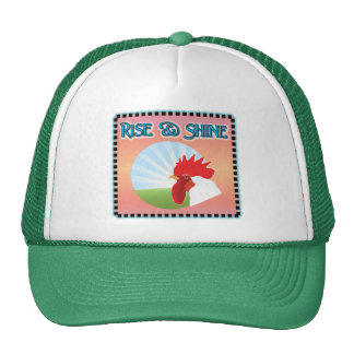 Rise and Shine Rooster Trucker Hat