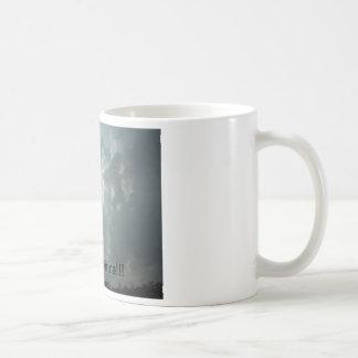 "rise and shine ""sky"" coffee cup classic white coffee mug"