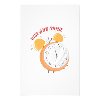 Rise And Shine Stationery