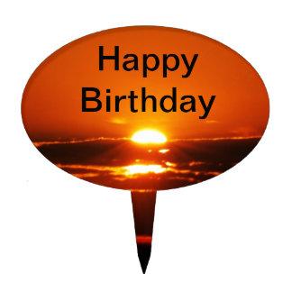 Rise And Shine Sunrise Birthday Cake Topper