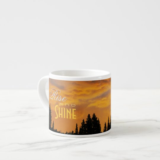 Rise and Shine Sunrise Espresso Cup