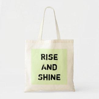 Rise And Shine. Tote Bag