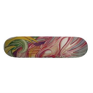 RISE by riton tattoo Skateboard