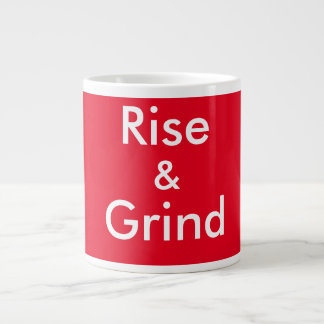 Rise & Grind Large Coffee Mug