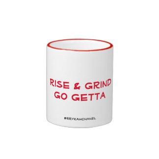 Rise & Grind Ringer Mug