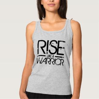 Rise Like A Warrior Motivational Tee
