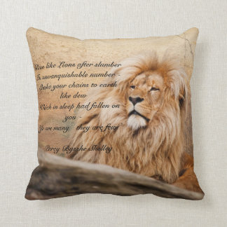 """""""Rise like Lions"""" Pillow"""