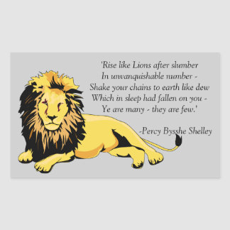 """""""Rise like Lions"""" Stickers"""