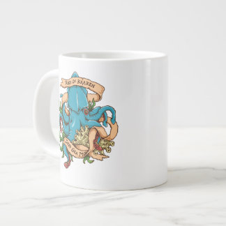 Rise of Kraken Monster Octopus Giant Coffee Mug