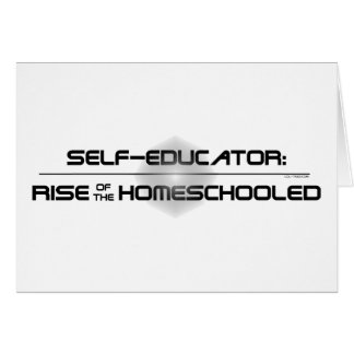 Rise of the Homeschooled Greeting Card