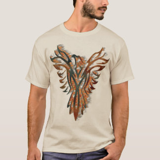 Rise of the Phoenix Mexican Folk Art T-Shirt
